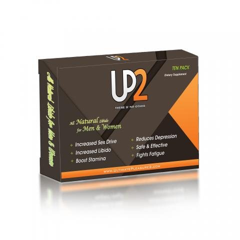 Label, Up2 there is no other All Natural Libido for Men & Women, Ten Pack