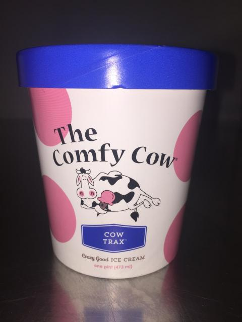 The Comfy Cow Cow Trax, PINT – 473 mL, UPC 852009005032