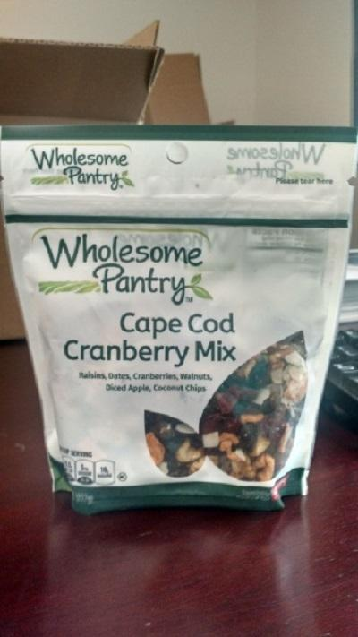 Wholesome Pantry Cape Cod Cranberry Mix 8oz.