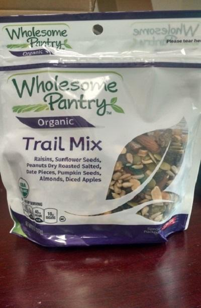 Wholesome Pantry Organic Trail Mix 8oz.