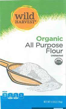 Wild Harvest Organic All Purpose Flour Unbleached, 5 lb