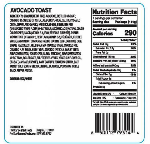 MiniMeal2Go-AvocadoToast 6.75oz. bottom label