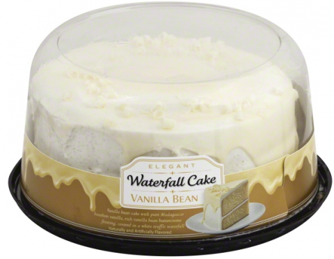 Picture of Vanilla Bean Waterfall Cake
