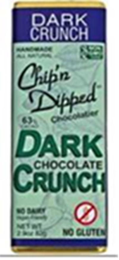 Dark Crunch, Chip n' Dipped Front Label