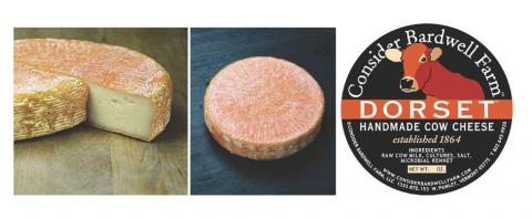 Image of cheese and label: Consider Bardwell Farms Dorset Cow Cheese