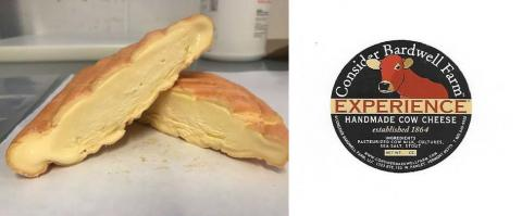 Image of cheese and label: Consider Bardwell Farms Experience Cheese