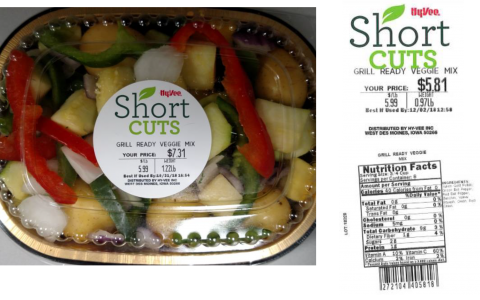 Short Cuts Grill Ready Veggie Mix