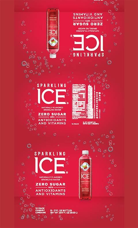 SPARKLING ICE CHERRY LIMEADE NATURALLY FLAVORED SPARKLING WATER 17 FL OZ (502.8 mL), 12 PACK