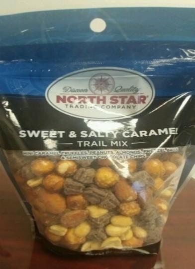 Image of Correct Package and Product – North Star Sweet & Salty Caramel Trail Mix