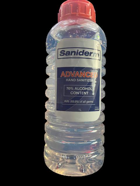 Image – Saniderm Advanced Hand Sanitizer, 1L Bottle