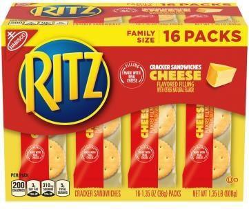 Label, Ritz crackers