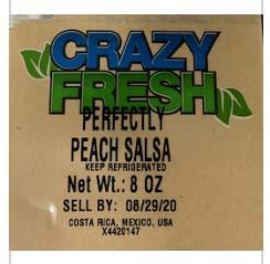 Photo 1 - Labeling, Crazy Fresh Perfectly Peach Salsa