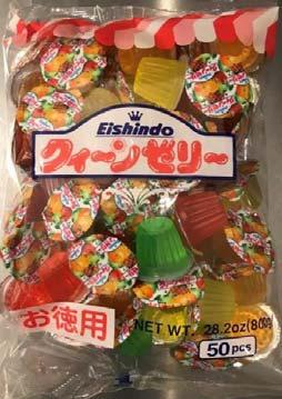 Photo 1- Product labeling, EISHINDO MINI CUP JELLY