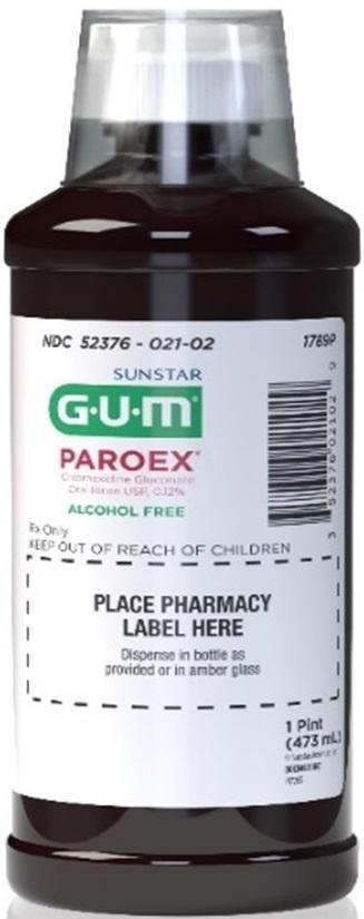 Picture of Paroex Chlorhexidine Gluconate Oral Rinse, 16 oz