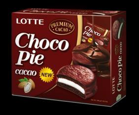 Image of Lotte Chocopie, Cacao