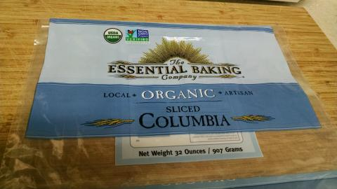 Image Front of Bag:  The Essential Baking Company ORGANIC Sliced Columbia