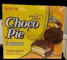 Image of Lotte Chocopie, Banana