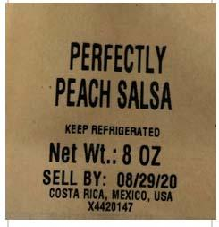 Photo 3 - Labeling Perfectly Peach Salsa