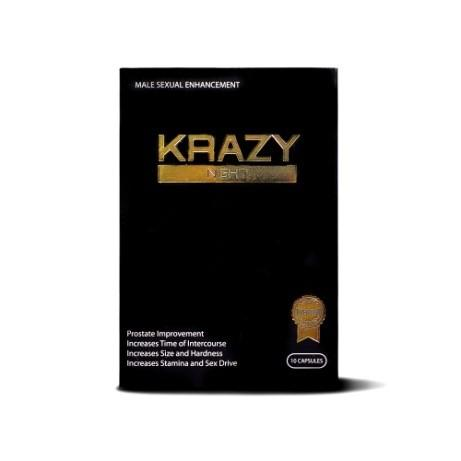 Front of package, Krazy Night