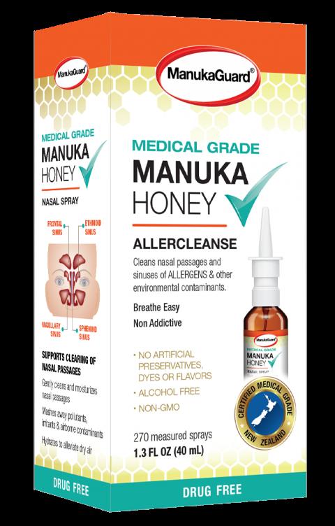 ManukaGuard, MANUKA Honey AllerCleanse, 1.3 FL OZ.