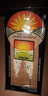 Front Label, Tuscan Sun Chicken Salad