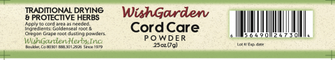 Photo 1- Labeling, WishGarden Cord Care Powder