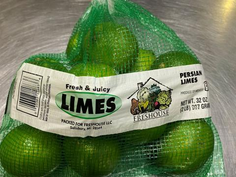 Image 3, Freshouse Limes in mesh bad 2 lb.