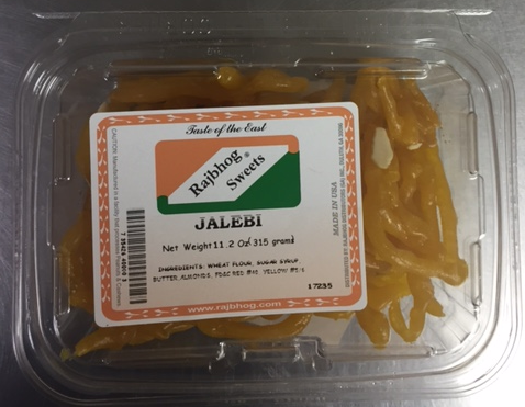 Rajbhog Sweets Jalebi, Code number-P026 and P027, product image