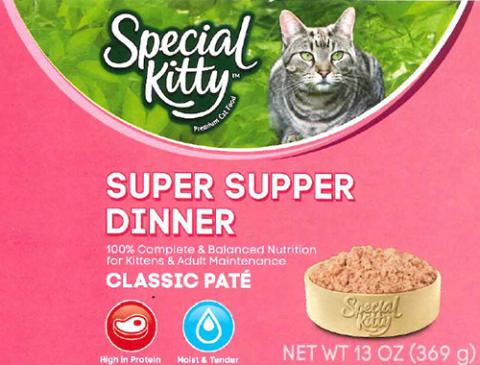 Label, Special Kitty Super Supper