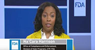 CTP - Na'Cara Harrison - FDA Tobacco Compliance Webinars Tips for Retailers: Preventing Sales to Minors webinar