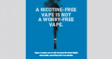 A nicotine free vape is not a worry free vape