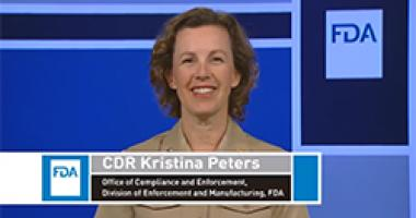 Introduction to Tobacco Product Recalls CDR Kristina Peters