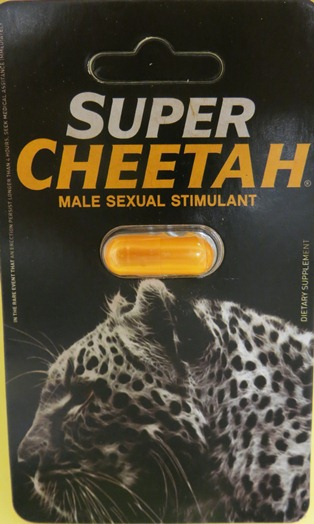 Super Cheetah label