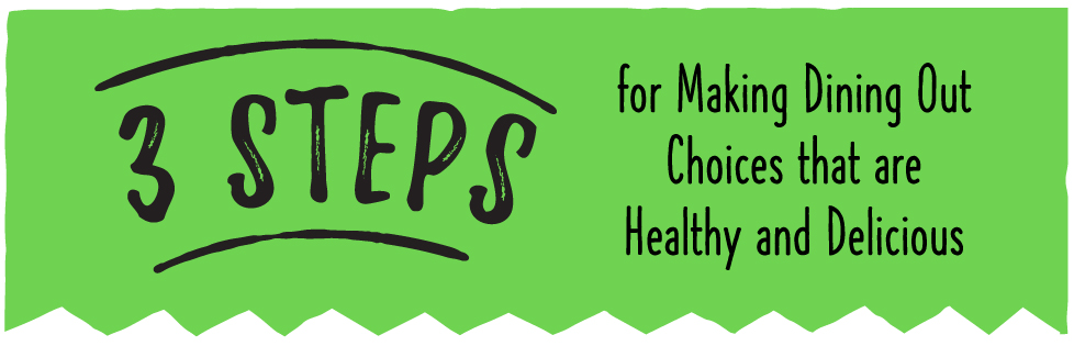 3 Steps for Making Dining Out Choices that are Healthy and Delicious