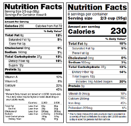 image regarding Printable Food Calorie Chart Pdf titled Nutrients Education and learning Materials Material Food and drug administration