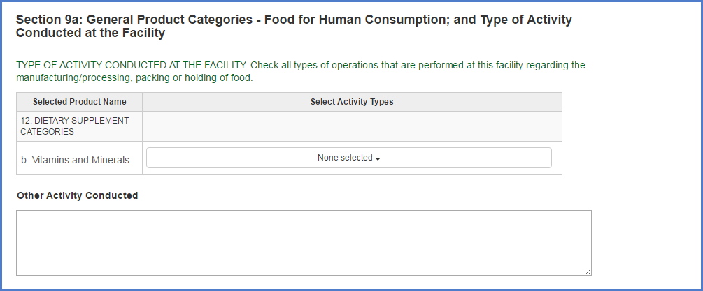 Food Facility Registration Step-by-Step Instructions Figure 14b