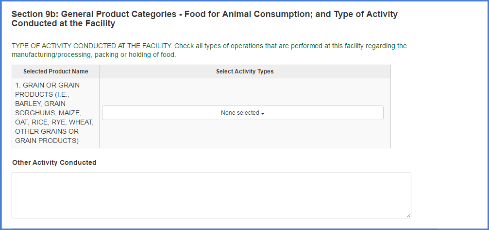 Food Facility Registration Step-by-Step Instructions Figure 15b