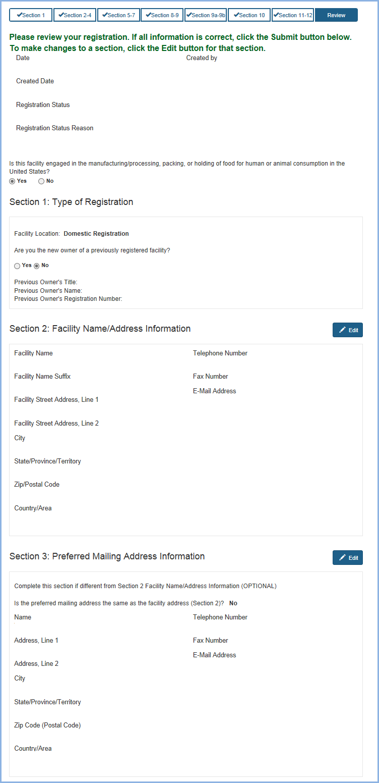 Food Facility Registration Step-by-Step Instructions Figure 23