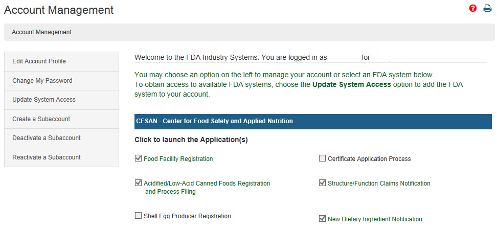 Food Facility Registration Step-by-Step Instructions Figure 1