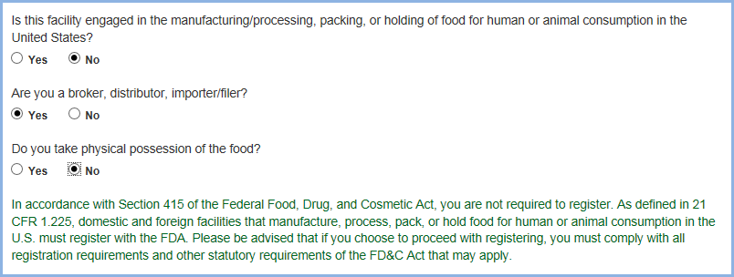 Food Facility Registration User Guide: Step-by-Step Instructions | FDA