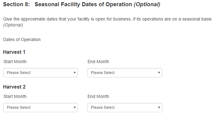 Food Facility Registration Step-by-Step Instructions Figure 12