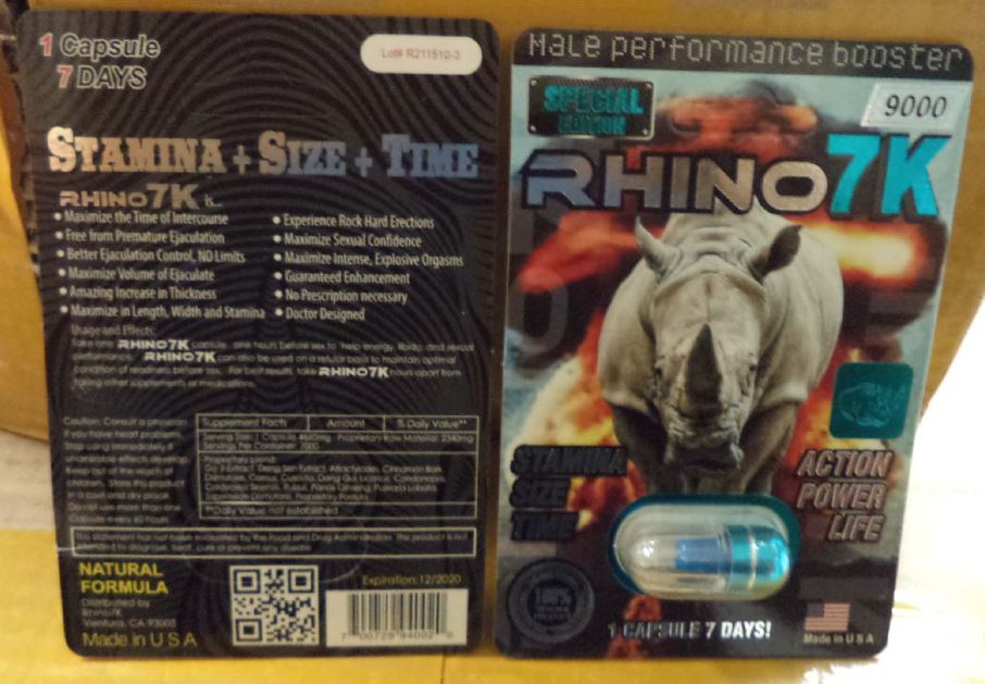 Image of Rhino 7K 9000 Male Performance Booster
