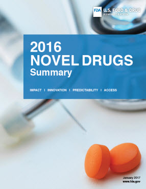 2016 Novel Drugs Summary Cover