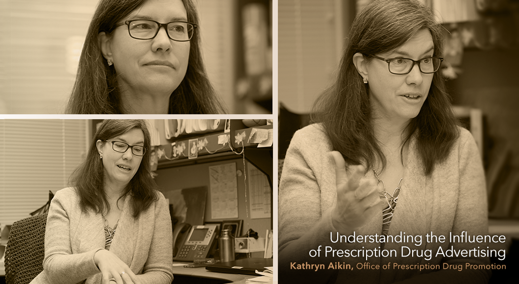 Photo of Kathryn Aikin, Office of Prescription Drug Promotion, Understanding the Influence of Prescription Drug Advertising