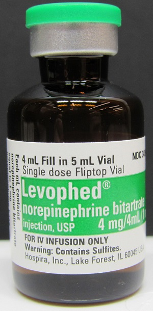Levophed® (norepinephrine bitartrate injection, USP)