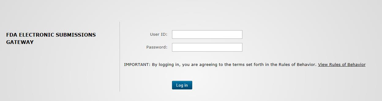 Registering for an AS2 test account | FDA