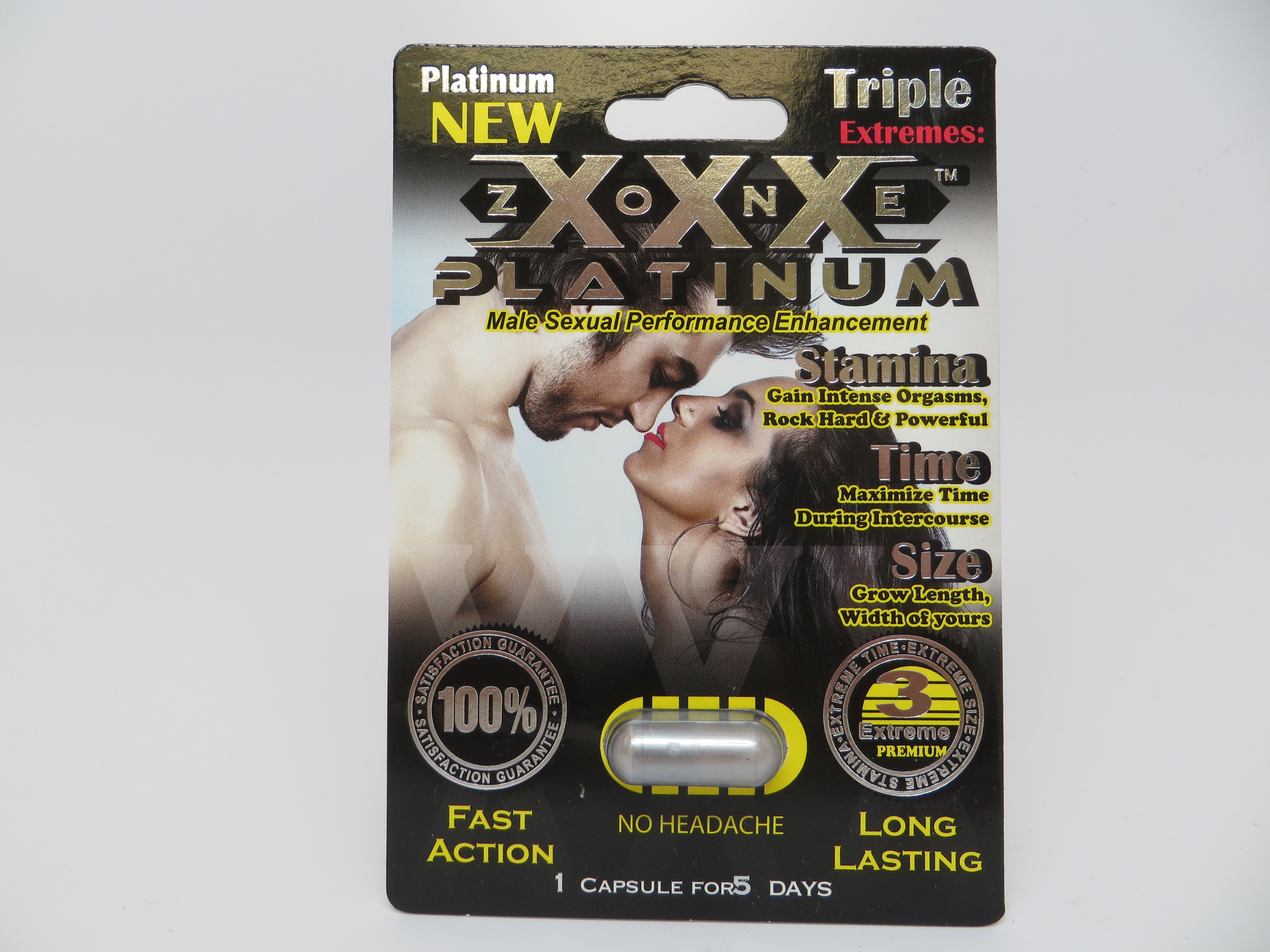 Image XXX Zone Platinum Product
