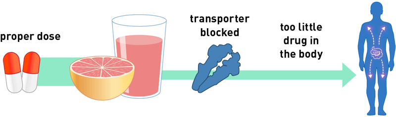 Grapefruit Juice Drug Under-dose Info-graphic (800x237)