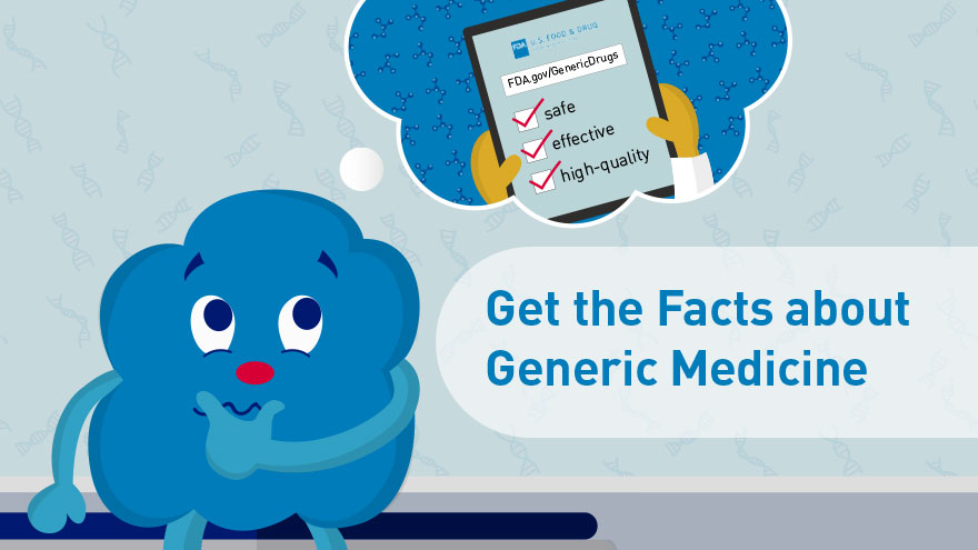 Get the Facts about Generic Medicine -  infocard