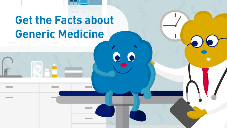 Get the Facts about Generic Medicine -  infocard 2